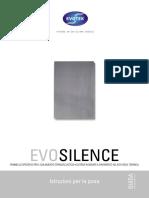 Manuale Posa EVOSILENCE Web