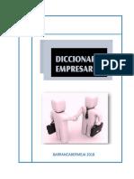 Diccionario empresarial