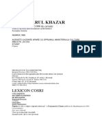 Dictionarul khazar