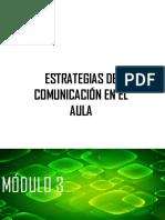 MÓDULO 3. Funciones de La Comunicación