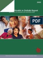 Dekalb Status of Health 20005