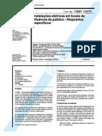 NBR 13570 - Instalações elétricas em locais de afluência de público - Requisitos específicos.pdf