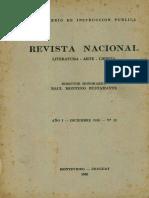 Revista Nacional No.12-Lamas a La Constitución Dic1938