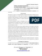 118 Defensa Justifica Incomparesencia de Imputado a La Audiencia