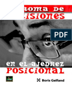 Gelfand, Boris - La Toma de Decisiones en El Ajedrez Posicional