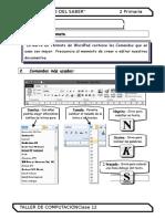 2. 1 Primaria - Barra de Formato de WordPad