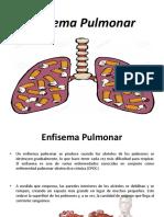 enficema pulmonal