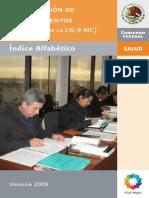 CIE9MC_IndiceAlfabetico