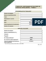 Evaluacion Riesgo psicosocial Intralaboral