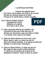 063.- Dime La Antigua Historia