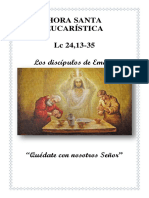 Folleto Hora Santa Emaús