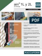 Ficha Tecnica de Geomalla MACDRAIN 1L y 2L