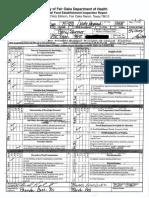 Conroy's Pub Health Inspection Report
