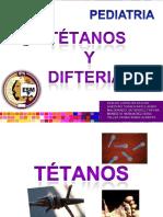 Difteria, Tétanos