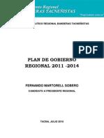 Plan de Gobierno 2011 2014 Martorell
