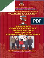 Plan de Convivencia y Disciplina Escolar Jec Cahuide 2017