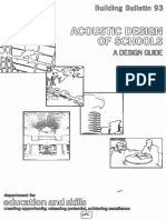 Acoustic Design of schools