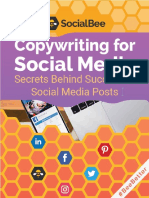 Copywriting for Social Media by SocialBee