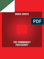 The Communist Postscript, Boris Groys.pdf