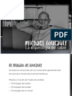 Foucault y La Arqueologia Del Saber