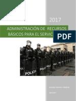 Administración de Recursos Basicos 1