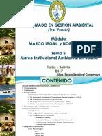 6. Marco Institucional Ambiental