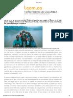 Viaje Al Pueblo Más Pobre de Colombia - Alfredo Molano
