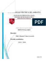 HIPOTALAMO Resuemn