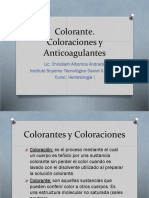 Bioquimica Coloraciones y anticoagulantes