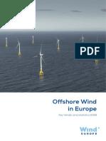 WindEurope Annual Offshore Statistics 2018