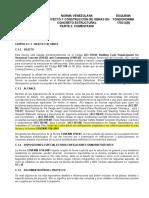 Norma venezolana de construcción 1753-2 Proyecto Y Construcción de Obras en Concreto Estructural