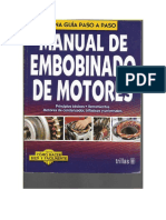 Manual Embobinado de Motores