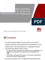 ODL113007 MBB ATN+CX IDEAL (Seamless MPLS) Solution LTE X2 Services Implementation and Configuration ISSUE 1.00