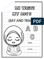 I Can Write My ABC