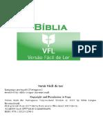 Bíblia Versão Fácil de Ler (VFL)