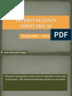 INTERVENCIONES OBSTETRICAS CRUENTAS.ppt