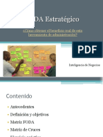 Análisis FODA Estratégico (cruce de variables)