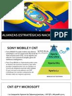 Alianzas Estratégicas Nacionales e Internacionales