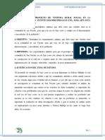 Desarrollo de Proyecto de Vivienda Rural en La Comunidad de San Vicente Dolores Hidalgo Gto