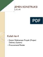 MK 4 - Sistem Pelaksanaan Proyek_Tender.pptx
