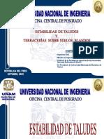 22102005 ESTABILIDAD DE TALUDES Y TERRACERÍAS SOBRE SUELOS B.ppt