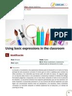 Unidad Didáctica - Classroom