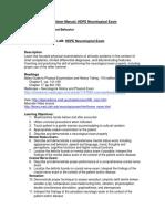 Manual Neuro HDPE 2017