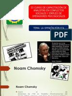LA OPINION PUBLICA noam-chomsky.ppt