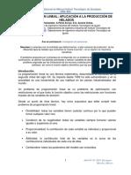 Programacion Lineal-optimizacion de La Produccion de Helados