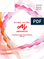 Ajinomoto Annual Report 2018