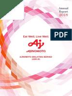 Ajinomoto Annual Report 2018
