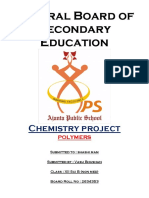 Project Class 12 on polymers