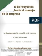 Evalución Proyectos Financireos Empresa