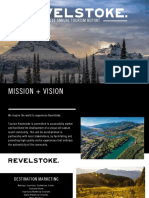 Tourism Revelstoke 2018 Annual Tourism Report